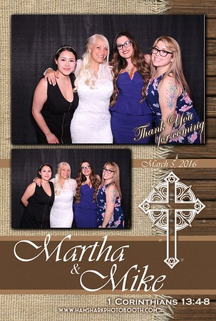 Martha + Mike Wedding