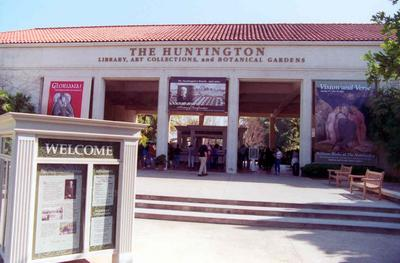 Hunington Entrance