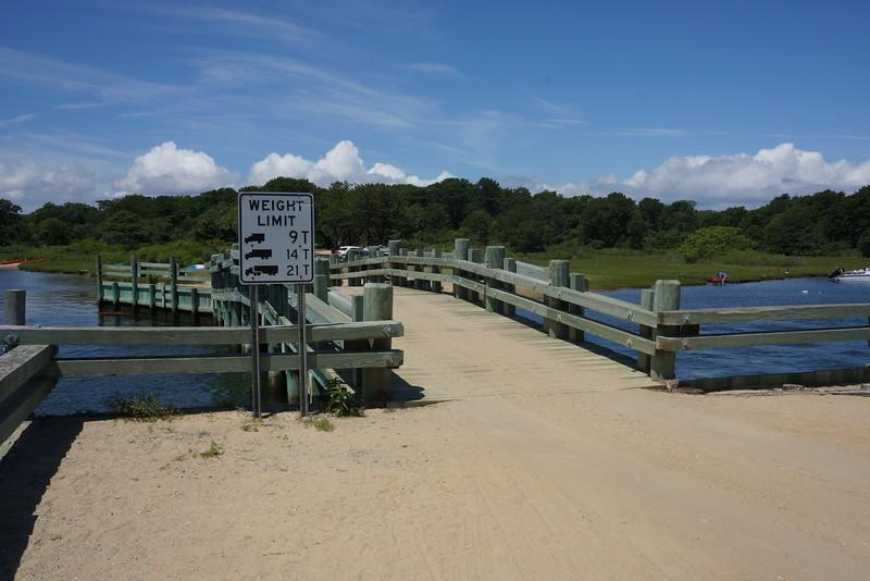 Dike Bridge - sight of 1969 Ted Kennedy crash & death of former RFK aide