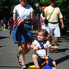 Catherine and Nonni in the parade!