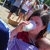 Rebecca's favorite at the Farmers' Market: limeade!
