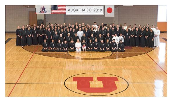 2018 AUSKF National Iaido Camp