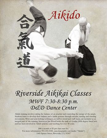 Aikido in Riverside, California  -  Riverside Aikikai