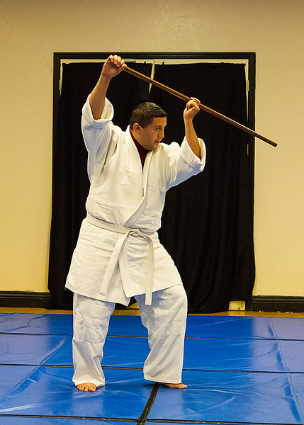 Mike, 6th kyu test, Oct. 23, 2013