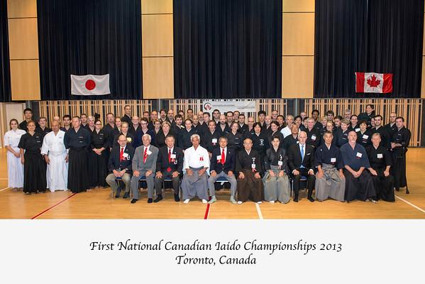 Canadian  Inaugural Iaido Championships  2013