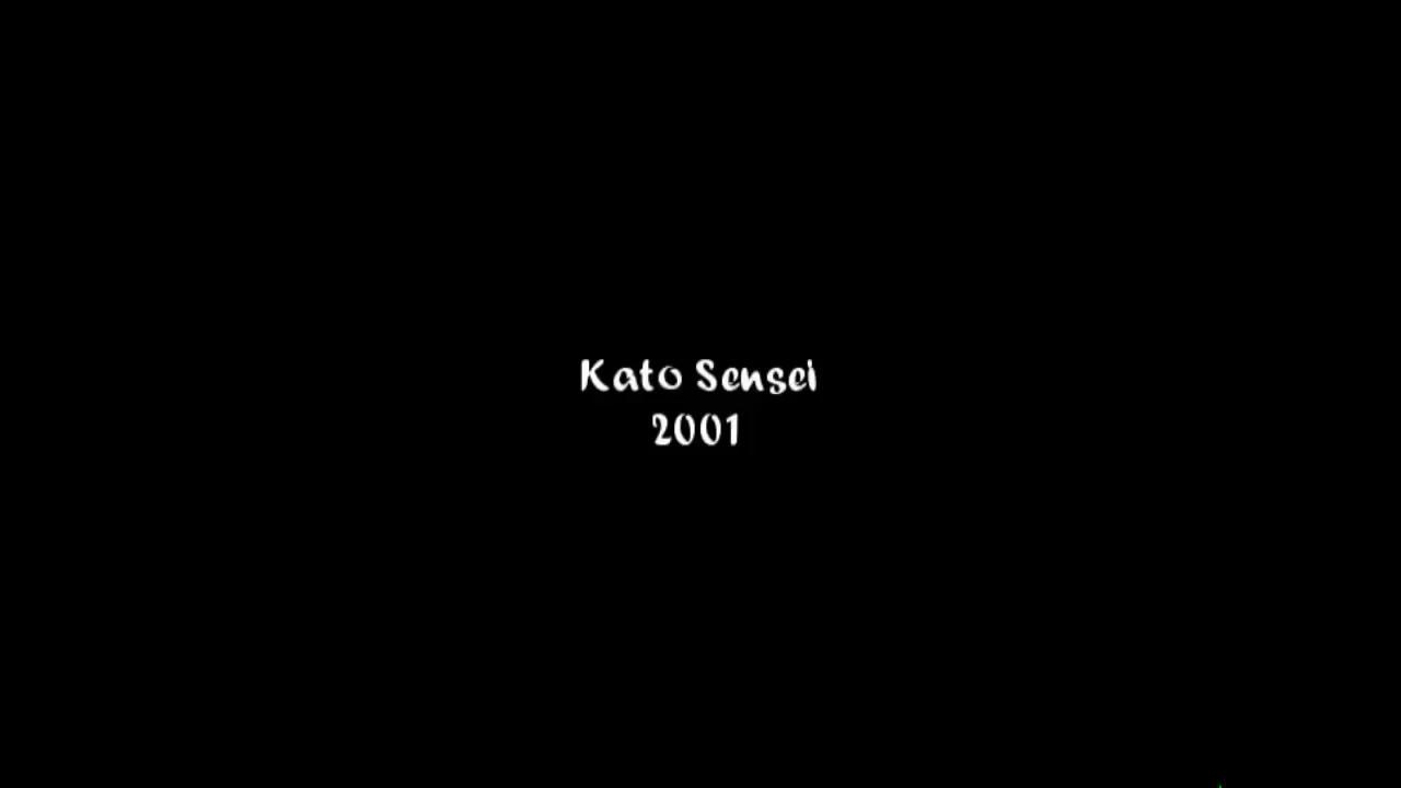 Kato Sensei Seminar 2001
