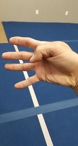 Open Finger Thrust