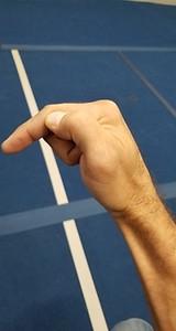 Mantis Finger Thrust