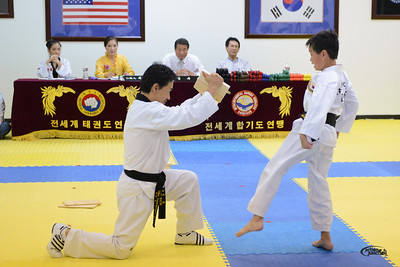 TKD kids test-165