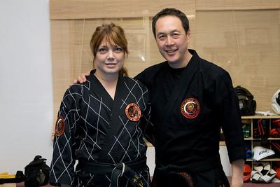 Master Grimaldi with Professor Leon Jay