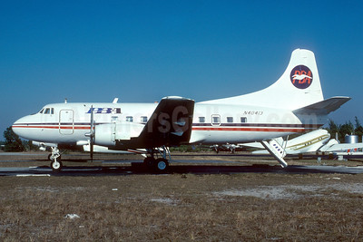 PBA (Provincetown-Boston Airline) Martin 404 N40413 (msn 14117) APF (Bruce Drum). Image: 103030.