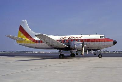 Air Omni Martin 404 N145S (msn 14142) ATL (Norbert G. Raith). Image: 951124.