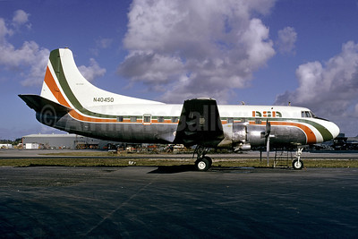 ASA (Atlantic Southeast Airlines) (Florida) Martin 404 N40450 (msn 14146) MIA (Bruce Drum). Image: 102572.