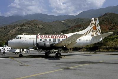 Rentavion Roraima Airlines Martin 404 YV-149C (msn 14247) CCS (Bruce Drum). Image: 105478.