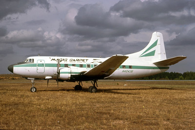 Magic Carpet Air Travel Club Martin 404 N40436 (msn 14171) (Ted J. Gibson - Bruce Drum Collection). Image: 947820.