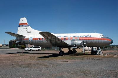 Pacific Air Lines Martin 404 N636X (msn 14135) 40G (Norbert G. Raith). Image: 904470.