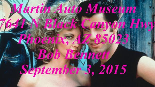 Martin Auto Museum Movie