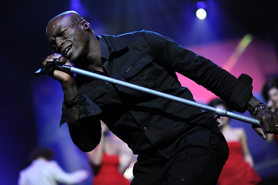 Seal live bei Aida Night of the Proms in  Mannheim (SAP Arena)