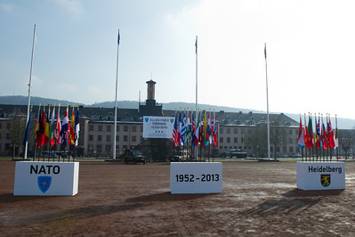 Allied Force Command Heidelberg 130314 Deactivation Ceremony