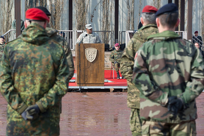 John Morgan, Lieutnant General (USA), John W. Morgan III, bei der Allied Force Command Heidelberg Deactivation Ceremony LTG Morgan Remarks Campbell Barracks