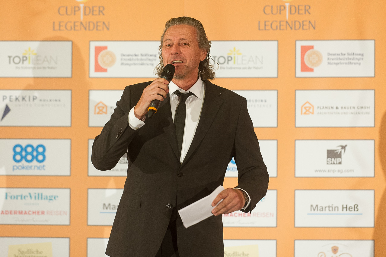 Cup der Legenden Gala am 14.05.17 Heidelberg Crowne Plaza