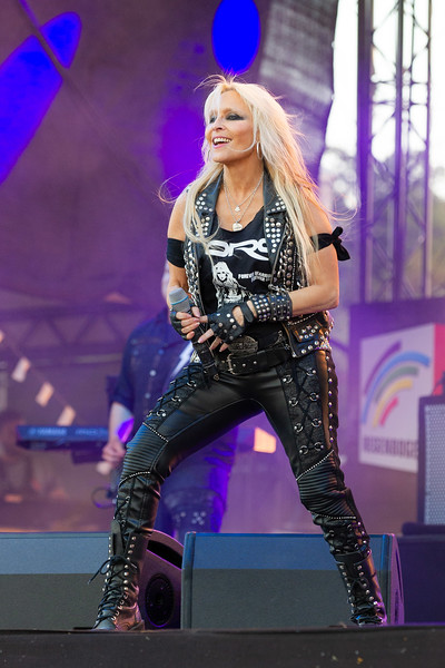 Doro Konzert am 13.06.20 in Worms in der CARantena Arena