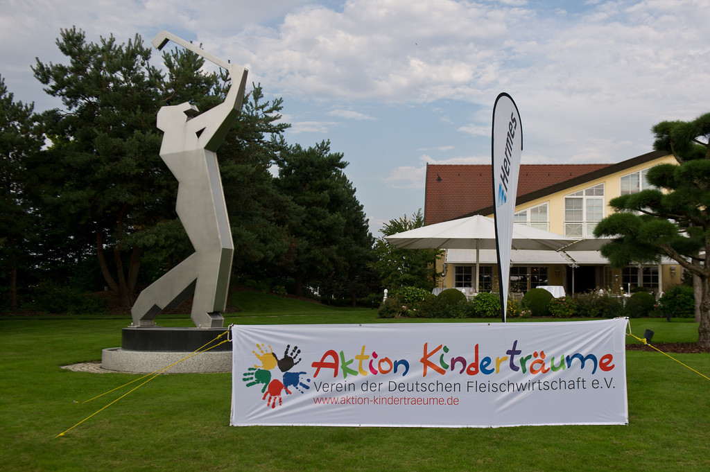 Aktion Kinderträume Golf Cup in St. Leon-Rot am 06.09.13