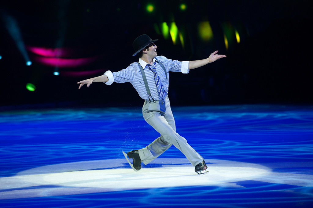 Holiday on Ice Premiere in der Frankfurter Festhalle am 10.01.12