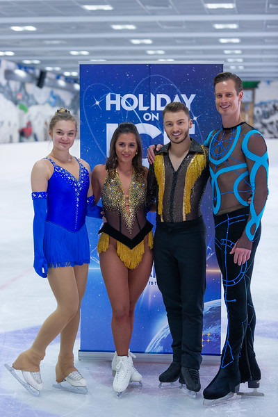 PK zu Holiday on Ice am 25.11.19 in Frankfurt