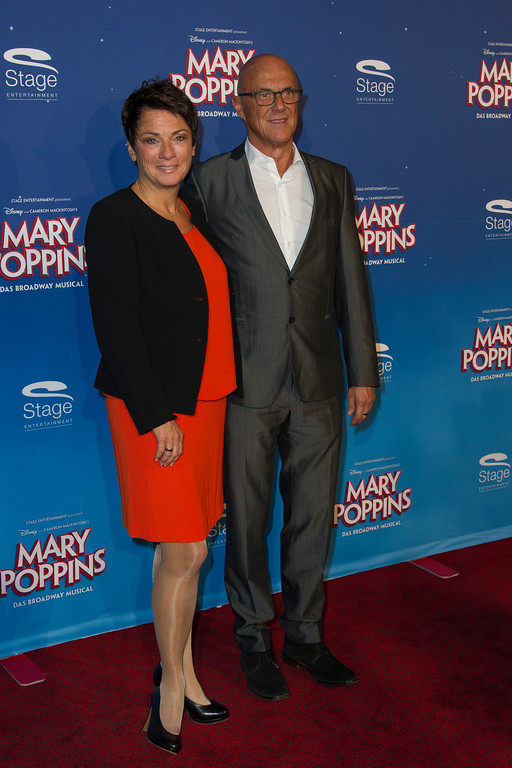 Deutschlandpremiere von Mary Poppins im Stuttgarter Stage Apollo Theater am 23.10.16