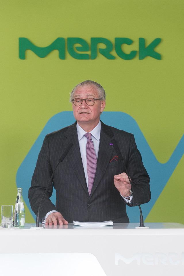 Pressekonferenz am 09.03.17 in Darmstadt bei Merck