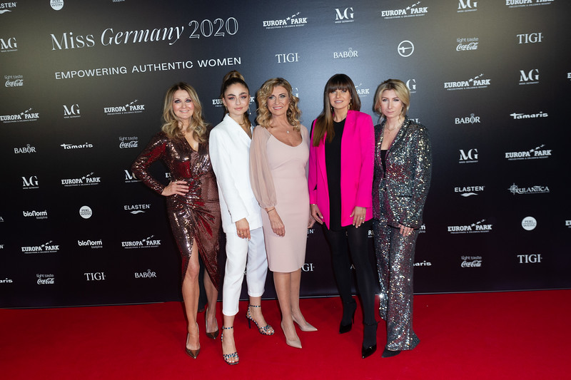 Miss Germany 2020 Finale am 14.02.20 in Rust im Europapark