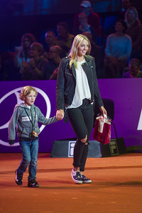 Porsche Tennis Grand Prix in Stuttgart in der Porsche Arena am 18.04.16