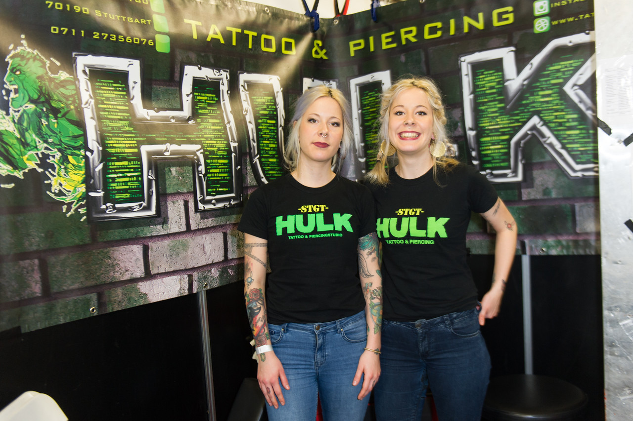 Impression bei der Tattooconvention Mannheim 2016