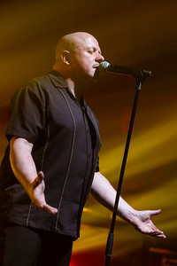 VNV Nation Konzert in Heidelberg in Halle02 am 08.02.19