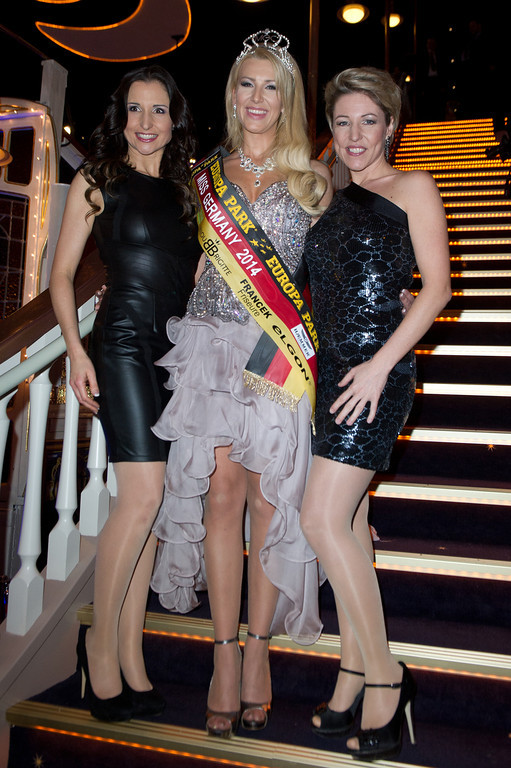 Miss Germany 2014 Finale am 08.02.14 in Rust im Europapark