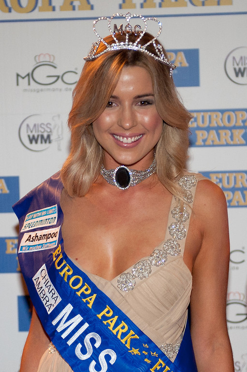 Dominique Wisniewski, beim Miss WM Finale am 17.06.11 im Europapark in Rust