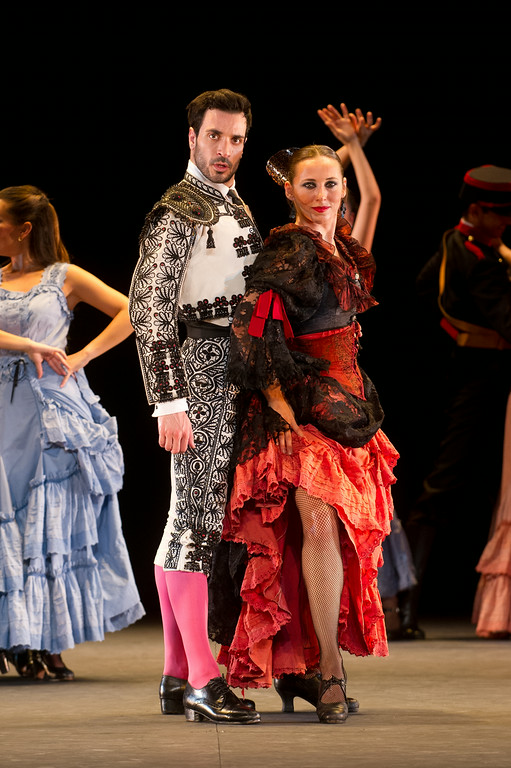 Carmen Flamengo Premiere am 30.07.13 in Mannheim im Nationaltheater