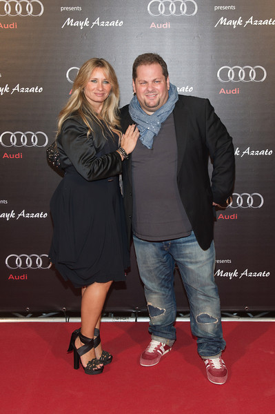 Mayk Azzato, Francesca Azzato, bei dem Audi Event Painted Pictures am  28.09.12 in Frankfurt
