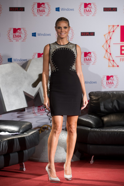 Heidi Klum, beim MTV EMA Press Briefing am 10.11.12 in Frankfurt im Römer