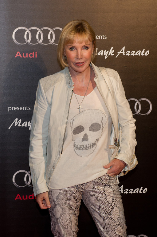 Heike Maurer, bei dem Audi Event Painted Pictures am  28.09.12 in Frankfurt