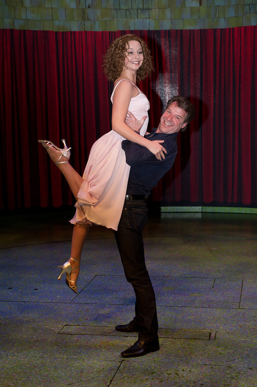 Patrick Lindner, Jenny Bach, beim Fotocall zu Lets Dance am 30.03.12 in Oberhausen