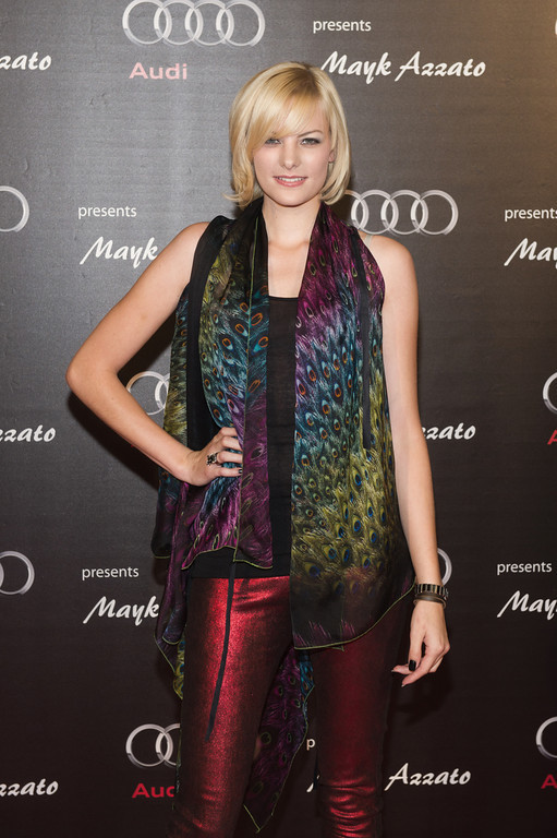 Jenny Hof , bei dem Audi Event Painted Pictures am  28.09.12 in Frankfurt