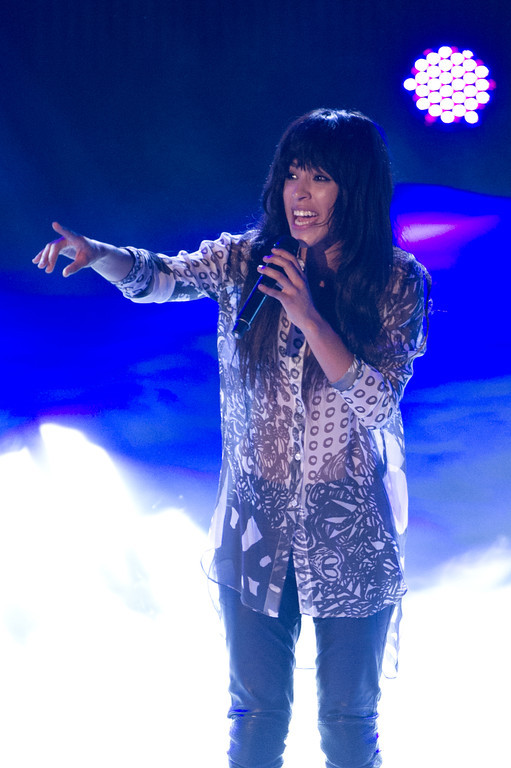 Loreen, bei THE DOME 63 am 29.08.12 in Ludwigsburg im Forum Theater