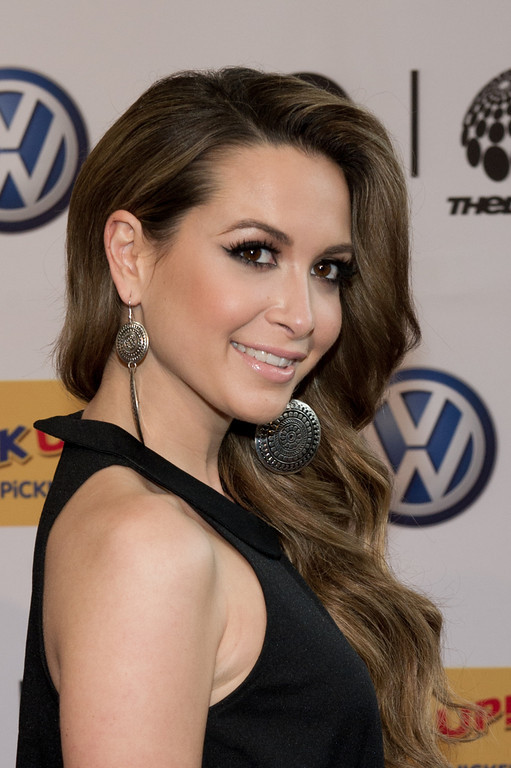 Mandy Capristo, bei The Dome 62 am 01.05.12 in Essen im Colloseum