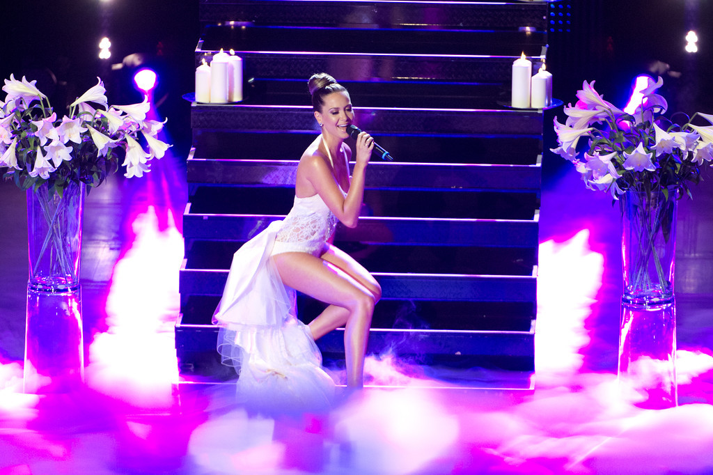 Mandy Capristo, bei THE DOME 63 am 29.08.12 in Ludwigsburg im Forum Theater