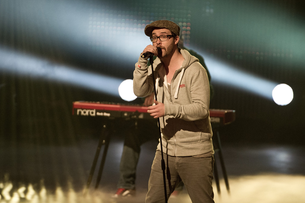 Mark Forster, bei The Dome 62 am 01.05.12 in Essen im Colloseum