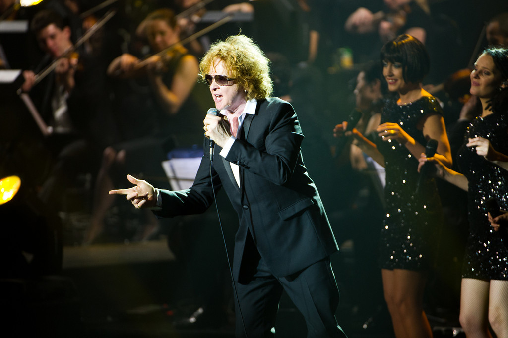 Mick Hucknall, Simply Red, bei der AIDA Night of the Proms am 04.12.12 in Frankfurt in der Festhalle