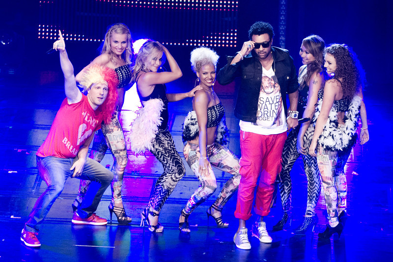 Shaggy, Oliver Pocher, bei THE DOME 63 am 29.08.12 in Ludwigsburg im Forum Theater