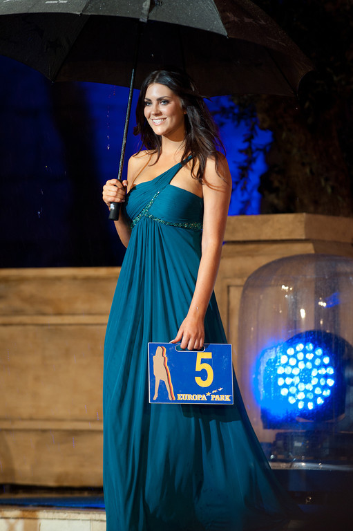 Samantha Woolley, beim Miss WM Finale am 17.06.11 im Europapark in Rust